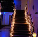 festa nuziale Decoration Curtain Light di 3X3m LED Christmas