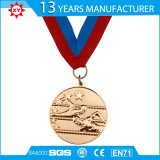 고객 디자인 연약한 사기질 금속 3D 메달