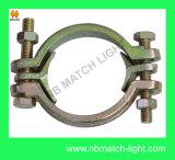 Tipi rotondi acciaio al carbonio - dei morsetti doppio morsetto del bullone placcato Zn