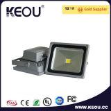 Ce/RoHS IP65 impermeabilizzano l'indicatore luminoso di inondazione di alluminio del LED