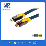 가장 새로운 Flat HDMI Cable 1080P Support 3D