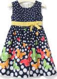 Vestido de la flor de la muchacha de la manera de la manera en la ropa de los niños Sqd-148