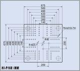 ペットプレフォームの射出成形機械168tこんにちはP168