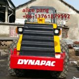 12ton Dynapac Ca25pd Vibration Single Drum Sheep Foot Roller