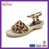 Leopard-Woolen Espadrille-Weibchen-Sandelholze