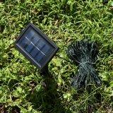 Lumière féerique solaire de chaîne de caractères de DEL avec différentes tailles 11m, 17m, 20m, 30m, 40m, 50m