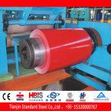 El color rojo negro de Ral 3007 cubrió la bobina de acero PPGI