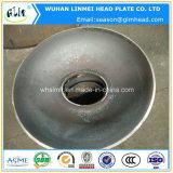 Pista elíptica servida del acero de carbón con el orificio de perforación para las calderas