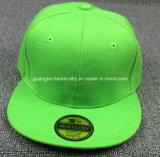 Le bord plat de qualité adaptent des chapeaux aux besoins du client de Snapback