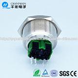 Qn30-B3 Qn30-B3 30mm momentanei|Aggancio dell'interruttore di pulsante inossidabile capo concavo alto