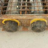 Opgeblazen RubberBallons voor het Maken van de Bekisting van de Duiker