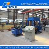 Fabrik Price Qt4-25 Hydraulic Pressure Hollow Paving Block Making Machine in Fidschi