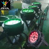 Cer RoHS wasserdichter 18X18W RGBWA+UV NENNWERT kann LED-im Freienbeleuchtung
