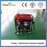 conjunto de generador portable de la gasolina del comienzo manual o eléctrico de 4kw