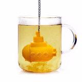 Chá 100% Eco-Friendly inoxidável do silicone do produto comestível FDA da venda por atacado Infuser