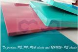 La hoja del PVC de la alta calidad con excelente impermeabiliza