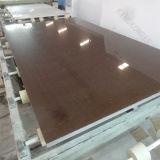 Камень кварца Brown Sparkle Китая 20mm проектированный слябом (Q1705155)
