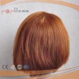 Le donne piene del merletto mettono la parrucca in cortocircuito delle donne della parte anteriore del merletto dei capelli del Virgin