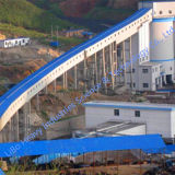 CE ISO Overland Energy-Saving Belt Conveyor / Conveyor System