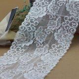 Fita elástica de nylon do laço para vestuários e Apperals