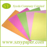 papel de Woodfree del color 110GSM en hoja