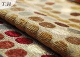 Tessuto del sofà del jacquard del Chenille con i puntini svegli variopinti (FTH31024)