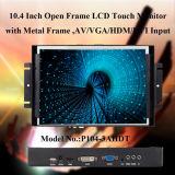 Marco abierto pantalla táctil de 10.4 pulgadas