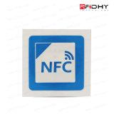 Em4423 NFC e de círculo da freqüência ultraelevada 25mm rolo das etiquetas Ntag213