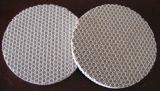 Placa cerâmica do queimador da fornalha do favo de mel infravermelho catalítico do gás