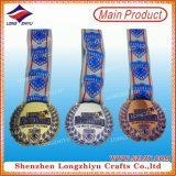 Medaglia promozionale di doratura elettrolitica di prezzi di fabbrica con il vostri propri disegno