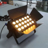 Dimming 18X6w Warm Cool White Color Wash LED Stage Light