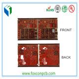 UL& RoHSの証明書が付いている6layers赤いカラー表面PCBのボード
