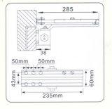 Sicherheits-populäre Entwurfs-Aluminiumlegierung-Glasbefestigungen (DS-K78)