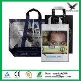 Le logo de empaquetage de qualité a estampé les sacs en plastique de cadeau personnalisés