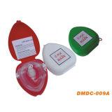 PVC 상자 (DMDC-009A)를 가진 휴대용 CPR 가면