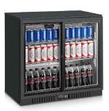 세륨으로, 콜럼븀, RoHS 바 냉장고의 밑에 두 배 유리제 문 바 냉각기 광고 방송