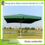 Напечатанный таможней выдвиженческий квадратный зонтик парасоля 4X4