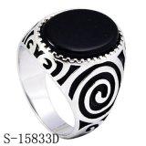 Echte Zilveren Ring 925 van uitstekende kwaliteit voor de Mens