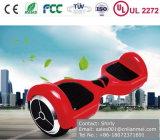 Cer RoHS EMC UL2272 bescheinigte zwei Räder elektrisches Hoverboard, Selbstausgleich-Roller, Selbstbalancierendes Roller-Rot