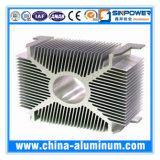 Tubo de aluminio de 6000 series con el diseño Alibaba del cliente