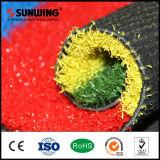 Césped artificial coloreado arco iris natural de la belleza de los nuevos productos