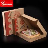 Cadre estampé intense de Pizzakarton de papier de logo