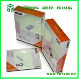 삽입 쟁반을%s 가진 플라스틱 명확한 상자 편평한 팩 패킹 셀룰라 전화 상자 포장 상자