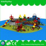 Напольные тип спортивной площадки и часть пластмассы и металла спортивной площадки пластмассы