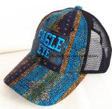 El casquillo de la impresión se divierte el casquillo de la manera de la ciudad del sombrero del camionero de la gorra de béisbol del casquillo del ocio del casquillo