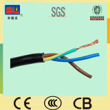300/500V 3 cable flexible de la base 2.5sqmm