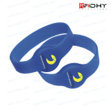 NFC imprägniern SilikonRFID Wristbands-Marke für Gymnastik/Wasser-Park