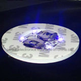 Promocional LED 3m Sticker Coaster with Logo Printed (4040)