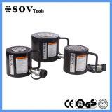 Cylindres hydrauliques légers de profil bas de soupape d'arrêt