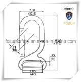 Galvanizado gancho de metal broche de presión, enlace rápido mosquetón